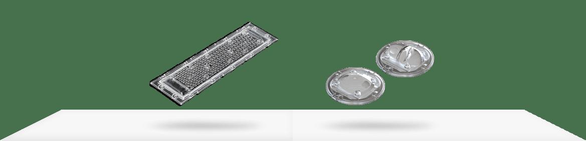 Beispiele von Silikon LED-Optiken für eine effizientere LED-Pflanzenbeleuchtung